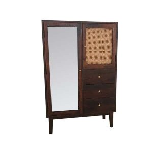 WOODEN-CANE-2-DOOR-CABINET-1-GLASS-1-CANE-DOOR