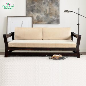 2 Seater 3 Seater Indus Wooden Sofa Furniture in Pune Mumbai Bangalore Indore Jaipur Jodhpur
